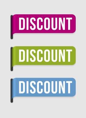 Modern label – discount