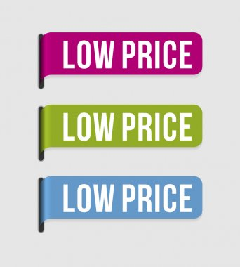 Modern label – low price