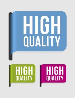 Modern label – high quality