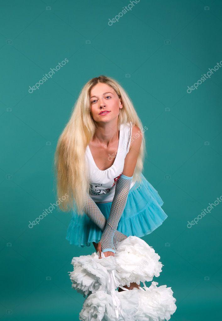 Фото фотографии девушек блондинок сексуальные телок голыми сиськами