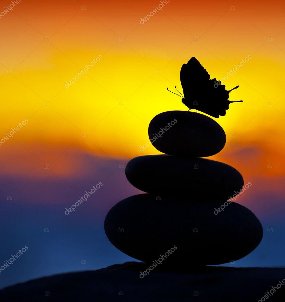 Spa stones balance