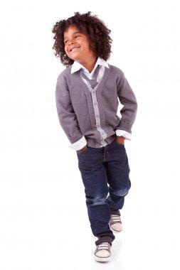 Portrait of a cute african little boy