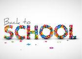 Fotografie Back to school vector illustration