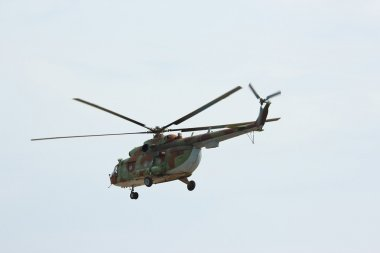 Russian military transport helicopter MI-8