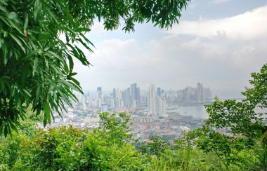 Panama cityl view from Ancon hill