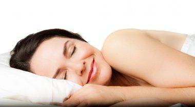 Beautiful woman sleeping