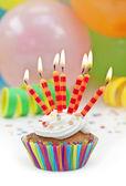 Színes születésnapi gyértyák