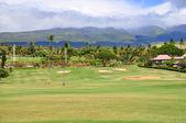 Golfové hřiště v kaanapali maui, Havaj