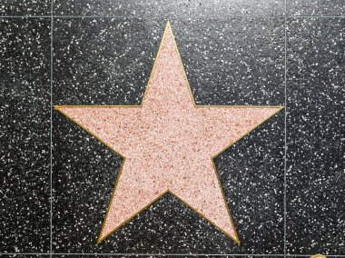 Xxx's star on Hollywood Walk of Fame