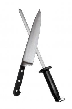 Carving Knife and Sharpening Steel