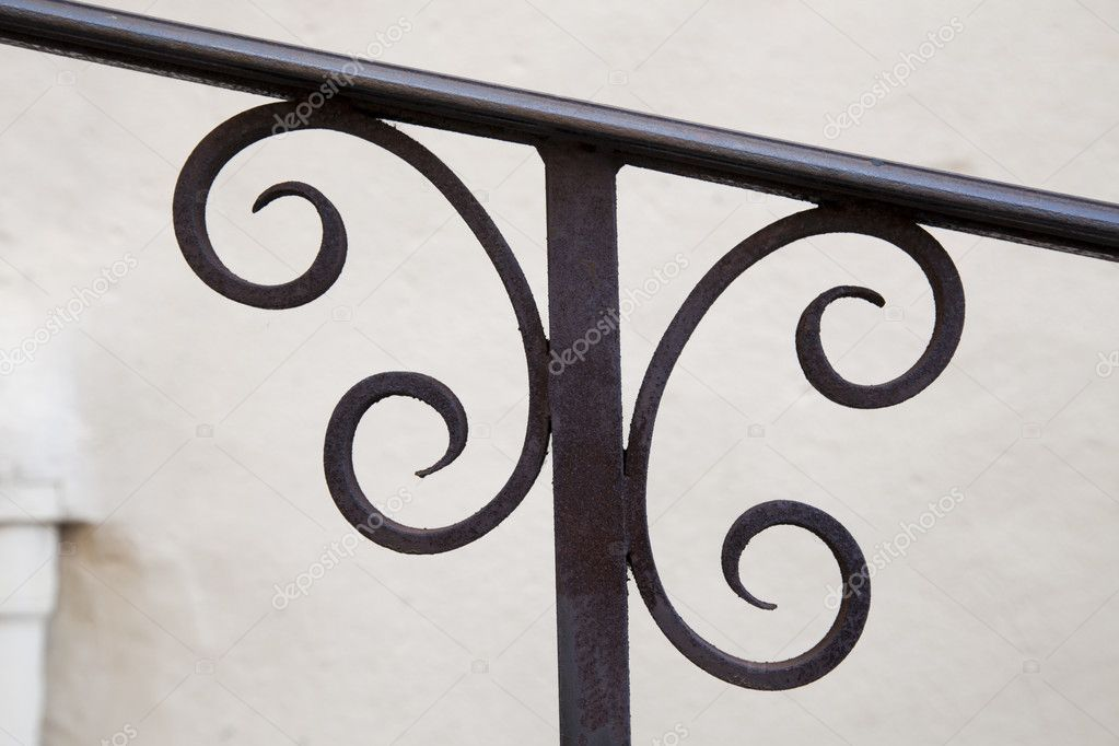 Metal Railing Detail — Stock Photo © charlotteLake #11535614