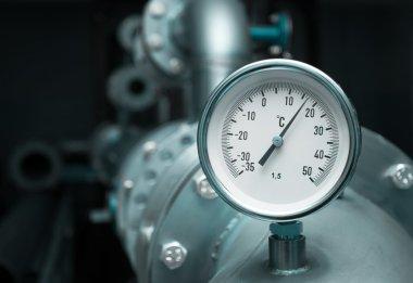 Industrial temperature meter