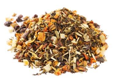 Loose Leaf Green Tea and Rooibos with lemon, orange citrus, ov