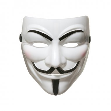 Anonymous mask (Guy Fawkes Mask)