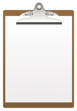 Vector clipboard and paper