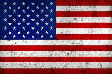 Grunge Dirty and Weathered USA (American) Flag