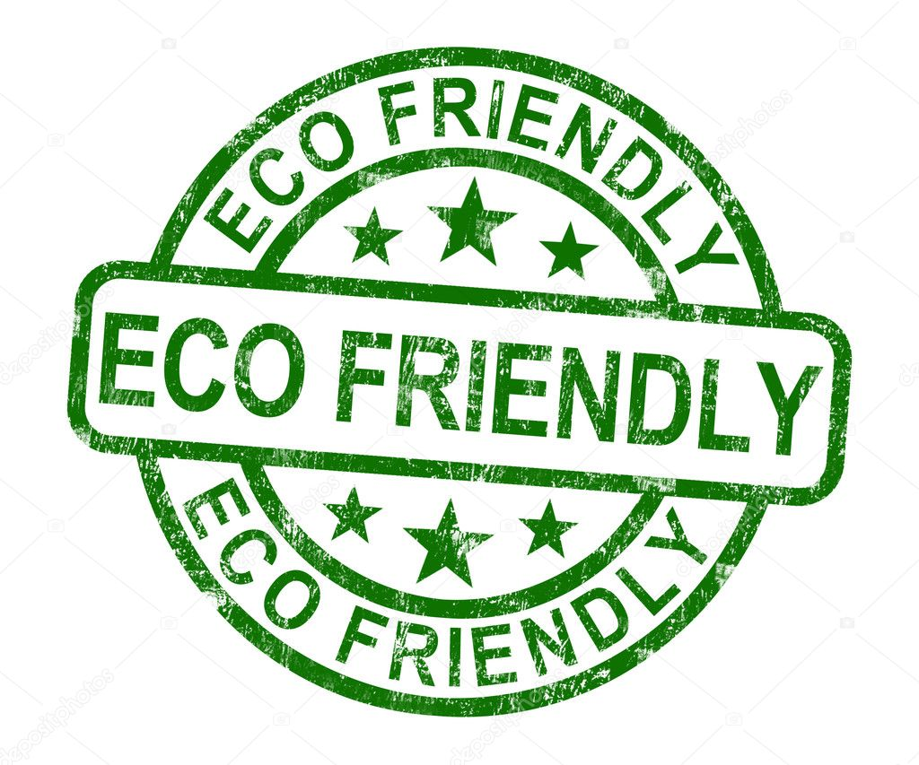 Eco friendly stamp as symbol for recycling stock photo eco friendly stamp as symbol for recycling or nature photo by stuartmiles biocorpaavc Choice Image