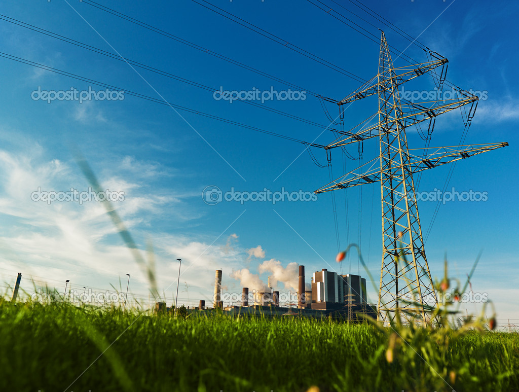 Power plant — Stock Photo © aa-w #11591124