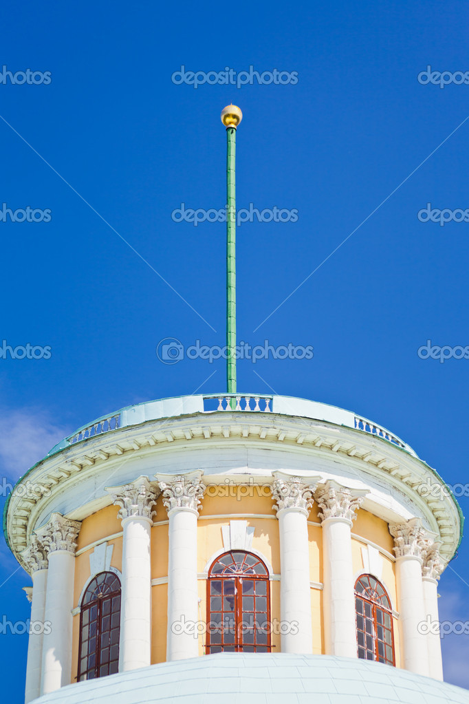 Blitzableiter Auf Altes Haus Stockfoto C Vvoennyy 11172951