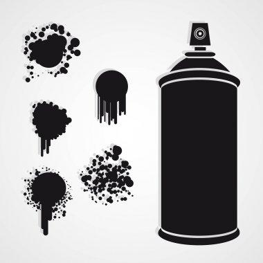 Silhouette spray bottle