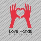 Fotografie Hände bilden ein Herz