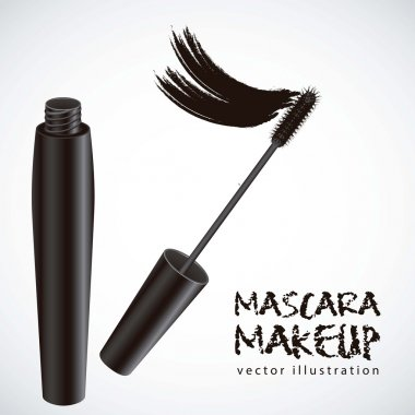 mascara illustration