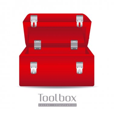Illustration of a tool box