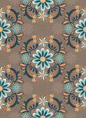 pozadí s barevnými okrasné květiny