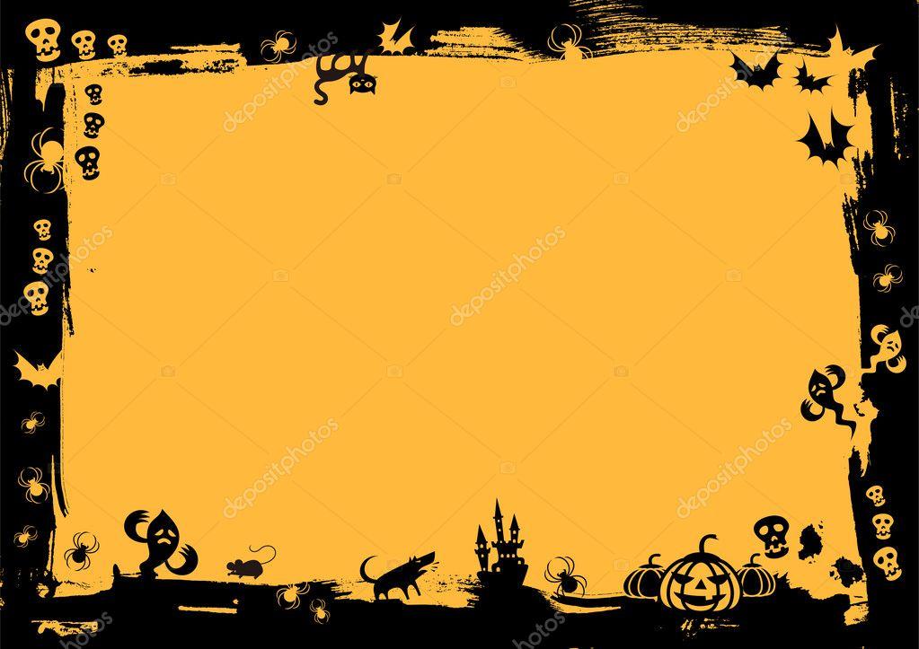 halloween wallpaper vetor