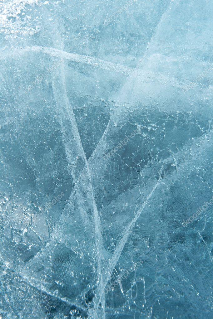 Ice - texture