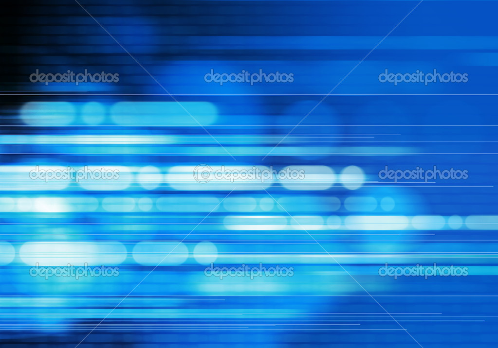 blue light moving background