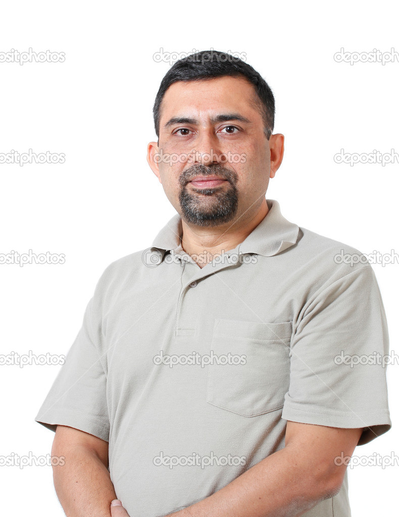 Smart indian man image | Handsome and smart indian corporate manager of  middle age lookin — Stock Photo © smarnad #13534665
