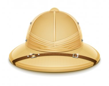 Pith helmet hat for safari