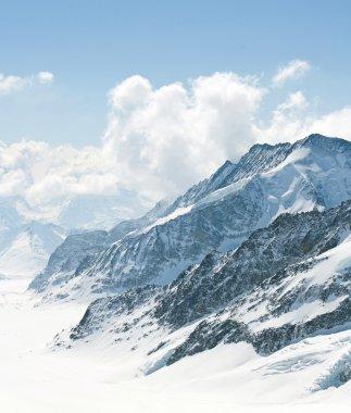 Aletsch Glacier Switzerland Alps