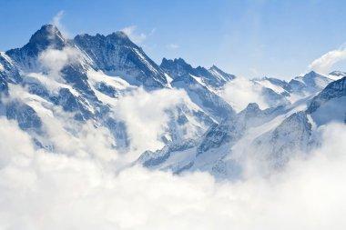 "Картина, постер, плакат, фотообои ""Юнгфрауйох Альпах горный пейзаж"", артикул 11363870"