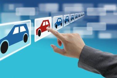 Electronic commerce car showroom
