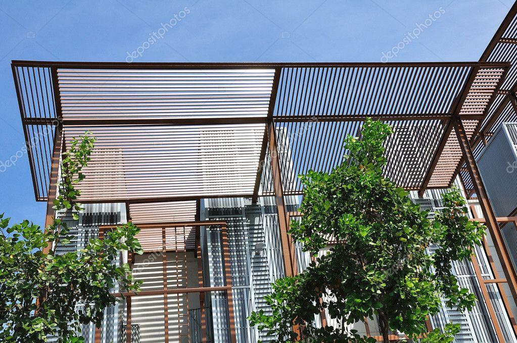 Stahl-Bau-Konstruktions-Rahmen — Stockfoto © tigger11th #12376398