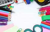 Fotografie školní kancelářské potřeby