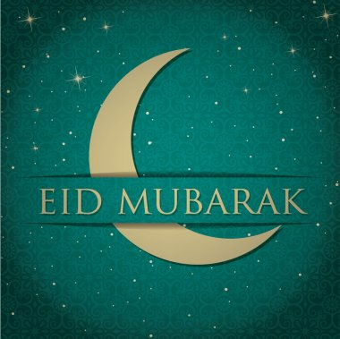 Blessed Eid card