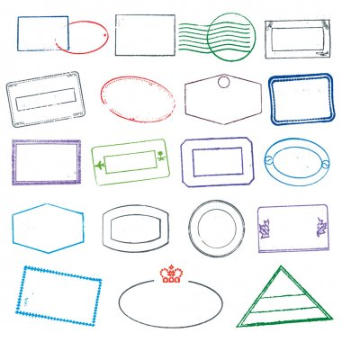 Vector Rubber Stamps