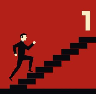 Businessman Stair