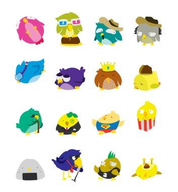 Bird Set Character
