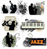 Jazz Band Stock Vector 169 Nataliahubbert 43417751