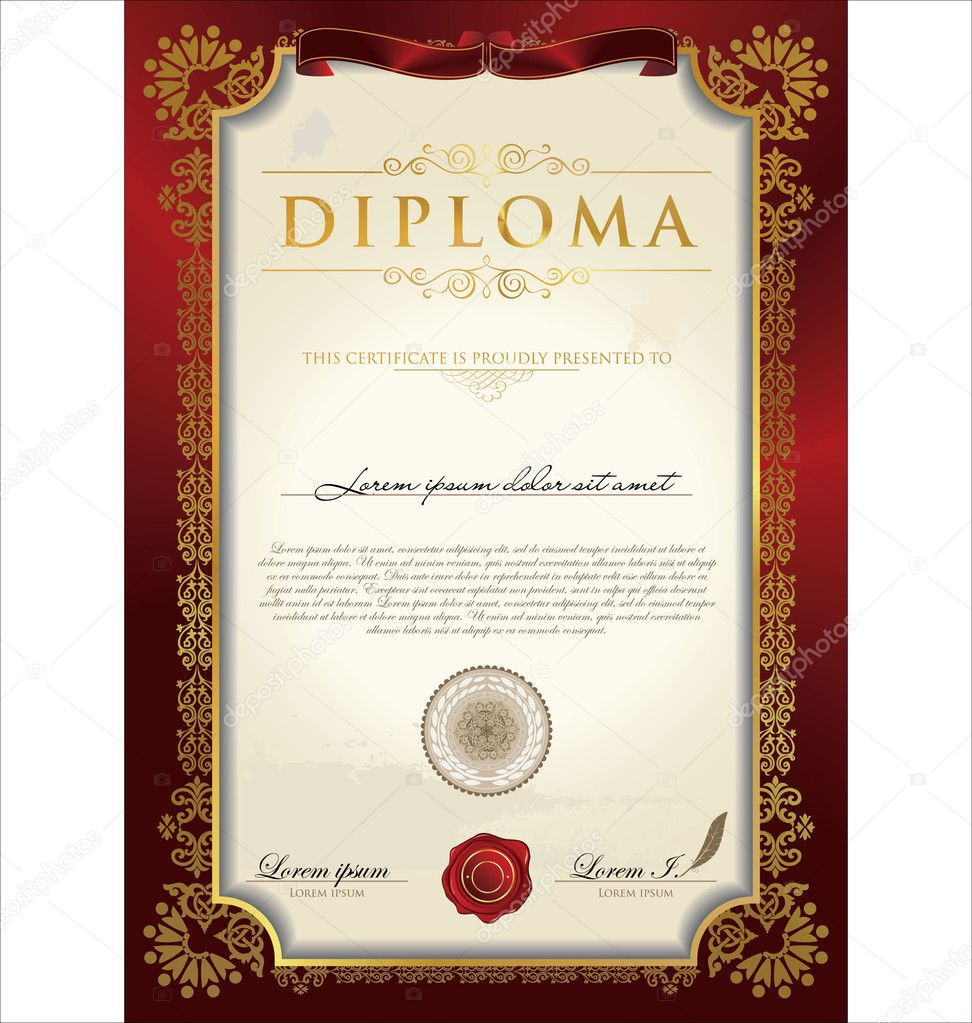 how to make a diploma in word