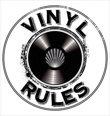 Vinyl rules background