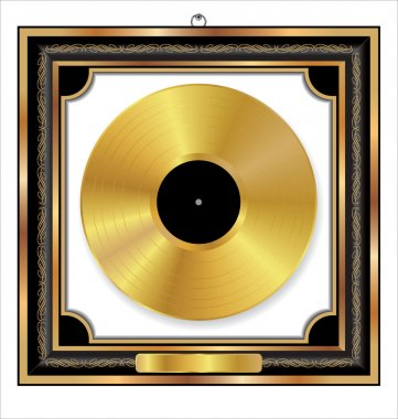 Gold Vinyl Dics Award