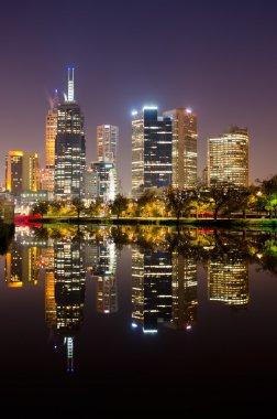 Perfect Reflection - Melbourne City Skyline