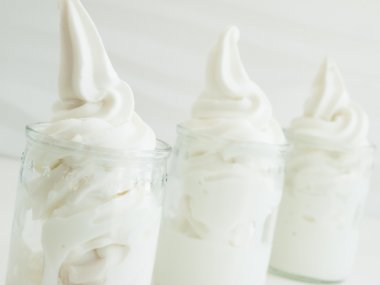 Frozen Soft-Serve Yogurt