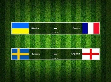 Match Day - 15 June 2012 ,euro 2012 ,Grass Background