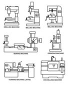 obráběcí stroje